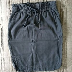 Loft Skirt Blue Gray XS